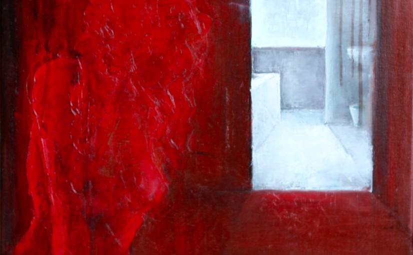 De rode kamer - 60 x 80