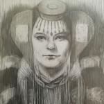 Portret in opdracht van Omen - larp
